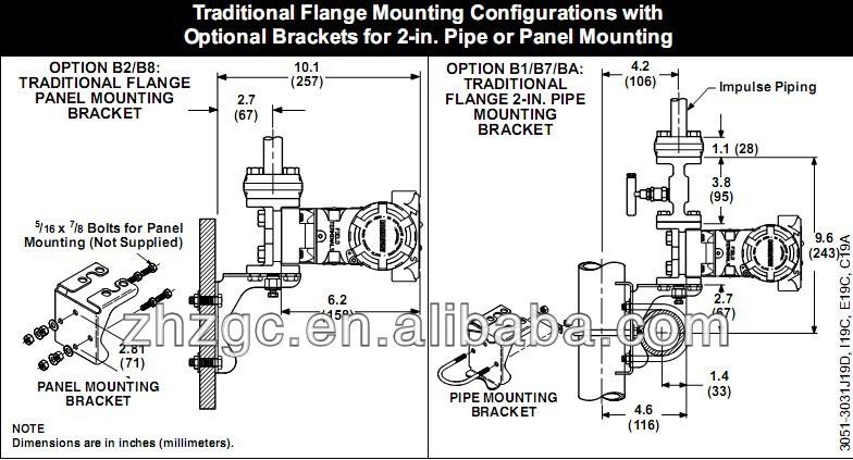 rosemount 3051 differential pressure transmitter