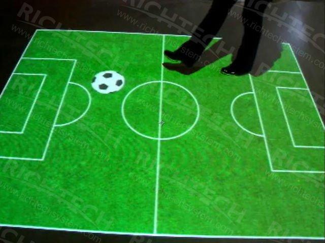 Interactive Floor Decorating Projection Software 3D Flooring