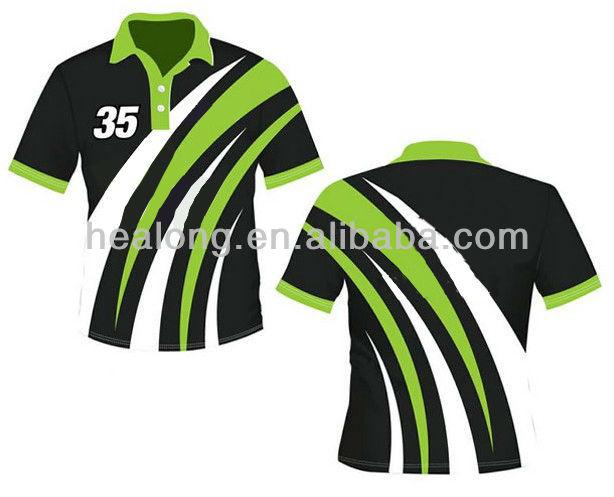 High Quality Custom Polo Cricket Jersey