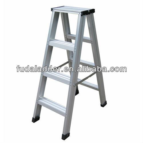 Aluminum Folding Ladder/ordinary Ldder-double Side Steps