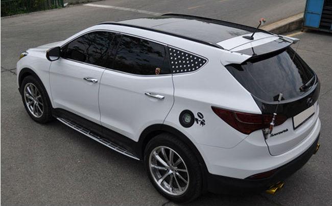 Hyundai Santafe Dm Rear Spoiler Buy Rear Spoiler Ix45