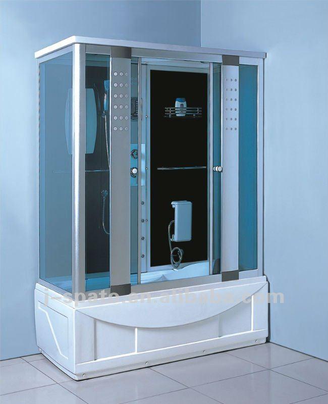 piazza angolo vasca da bagno doccia combinata - buy product on ... - Vasche Da Bagno Combinate Con Doccia