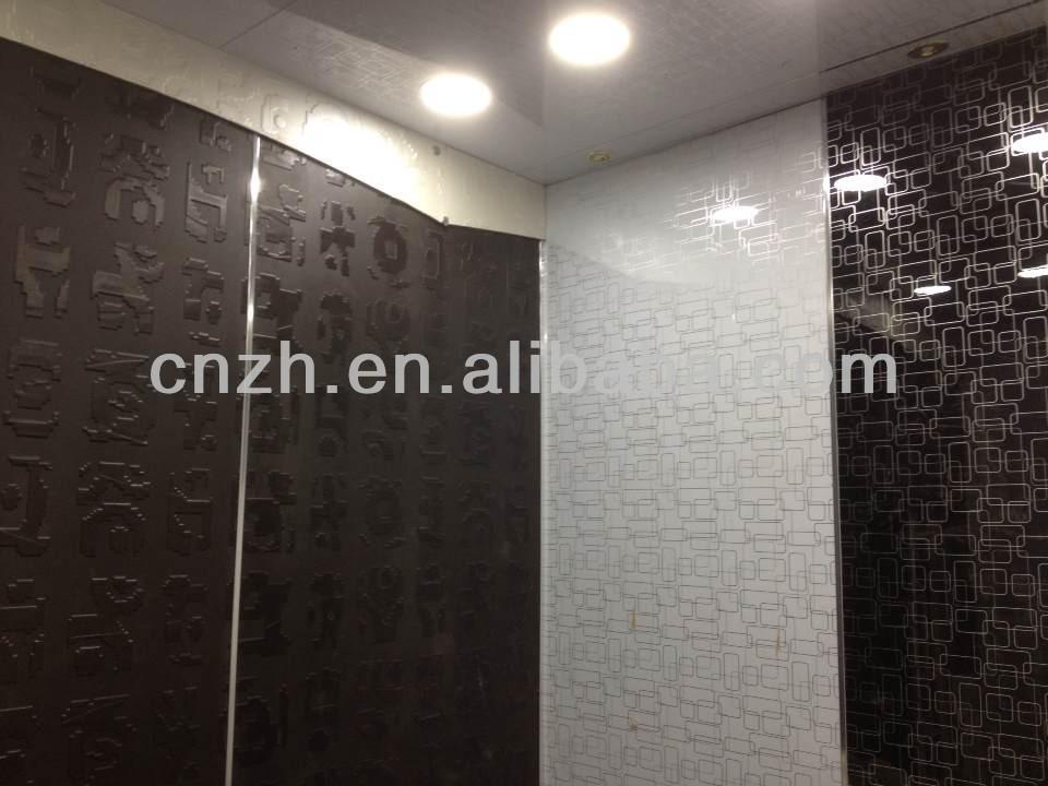 Customized Designs 3d Wall Panel For Bathroom,Decorative Bathroom ...