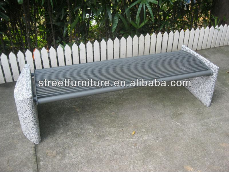 banco de piedra del jardn sin respaldo banco de cemento con asiento