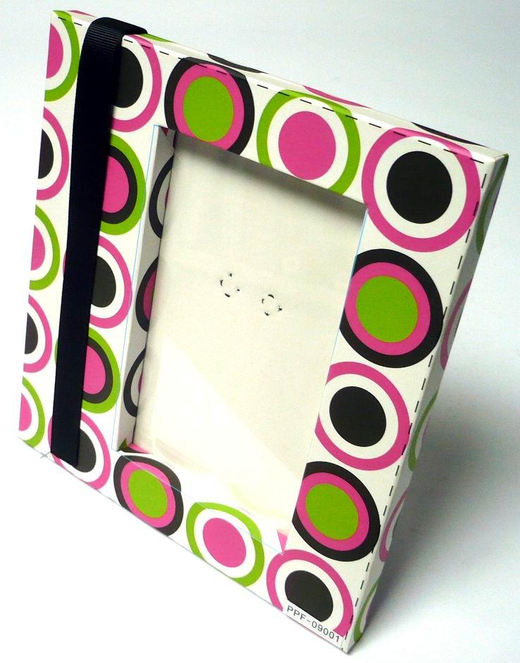 cardboard photo frame