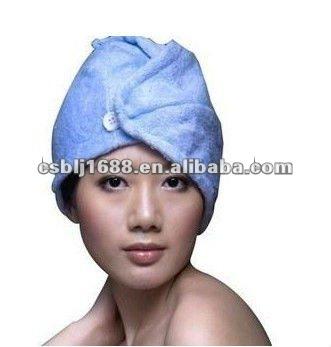 mikrofaser haar wickeln handtuch trocknen bath spa kopf kappe