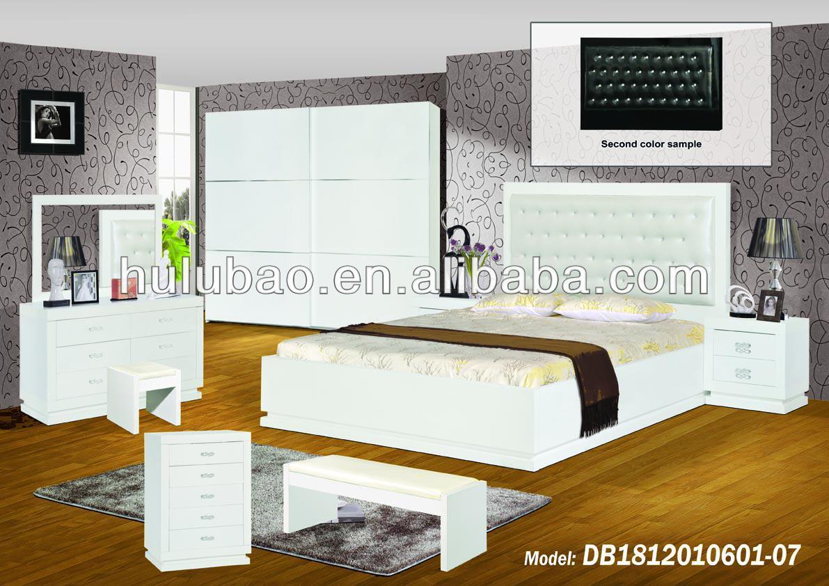 Wooden box bed design - Latest Bedroom Furniture Wooden Box Bed Design 9811