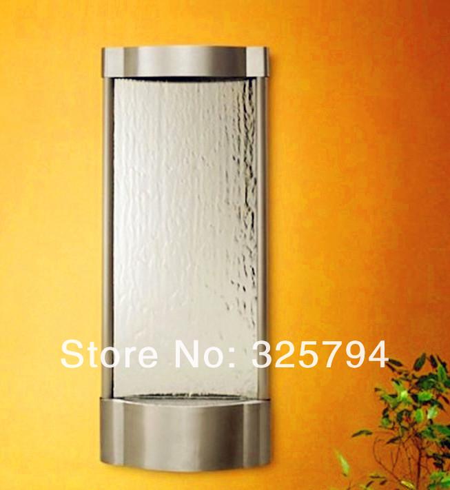 Fuentes de pared interior fuente de agua cascada de for Fuente decorativa interior