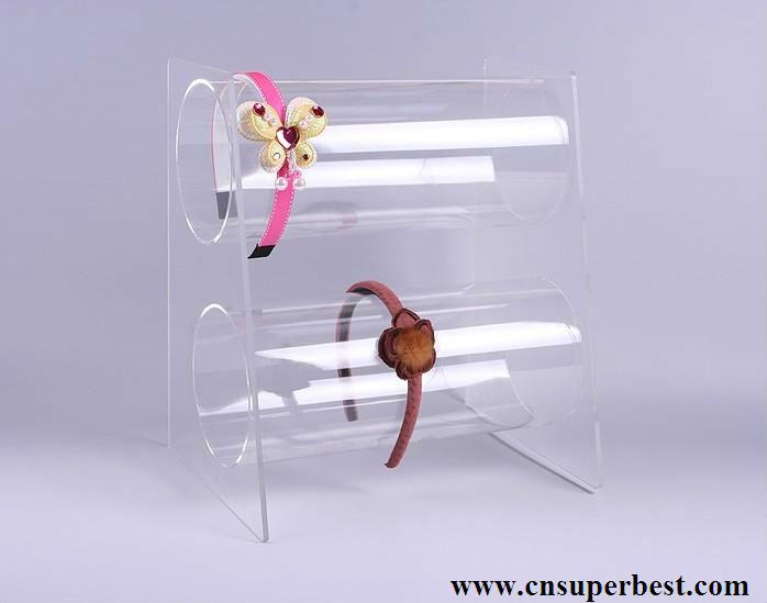 Clear Acrylic Headband Display Holder