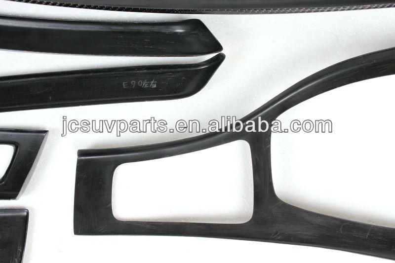 jc car accessories e90 carbon fiber interior trim kits for bmw right hand drive buy e90 right. Black Bedroom Furniture Sets. Home Design Ideas
