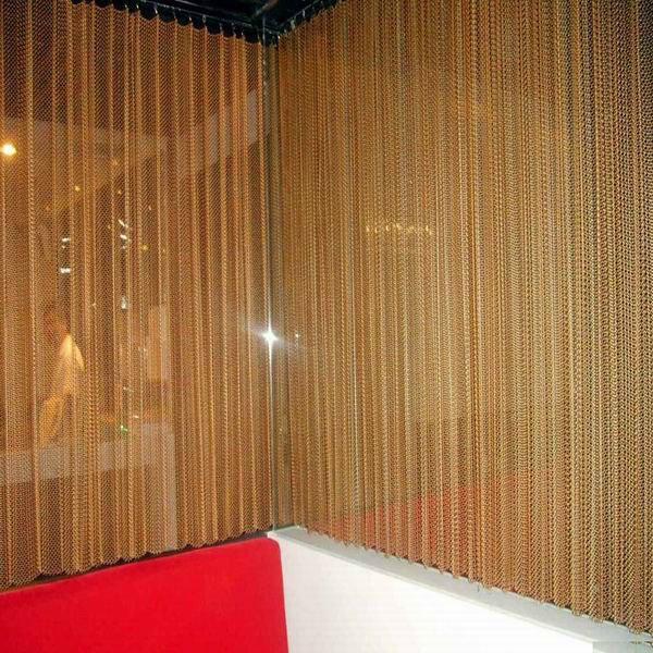 Wonderful Decorative Metal Mesh, Curtain Mesh, Metal Curtain