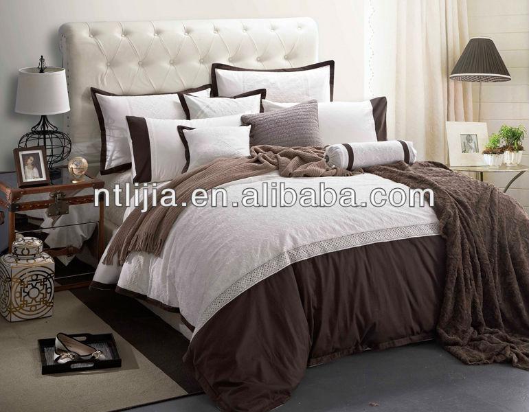 100 coton linge de lit design italien ensemble de literie drap de lit ensemble textile. Black Bedroom Furniture Sets. Home Design Ideas
