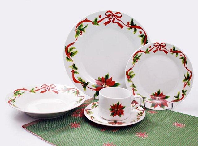 Christmas Dinner Set - Buy Dinner Set,Porcelain Dinner Set ...