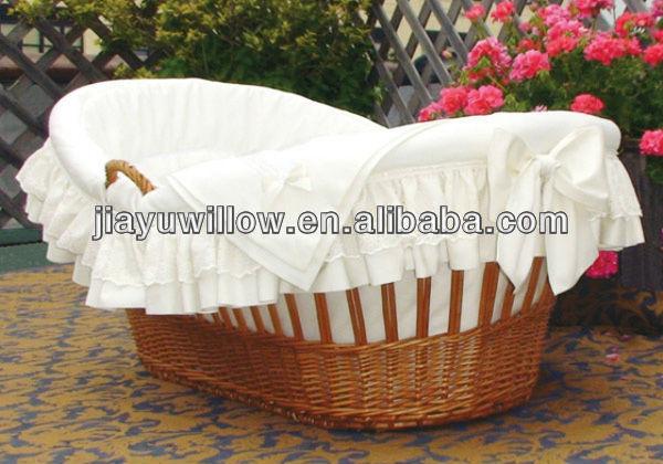 Baby Gift Baskets Empty : Wholesale wicker bassinet gift base baskets