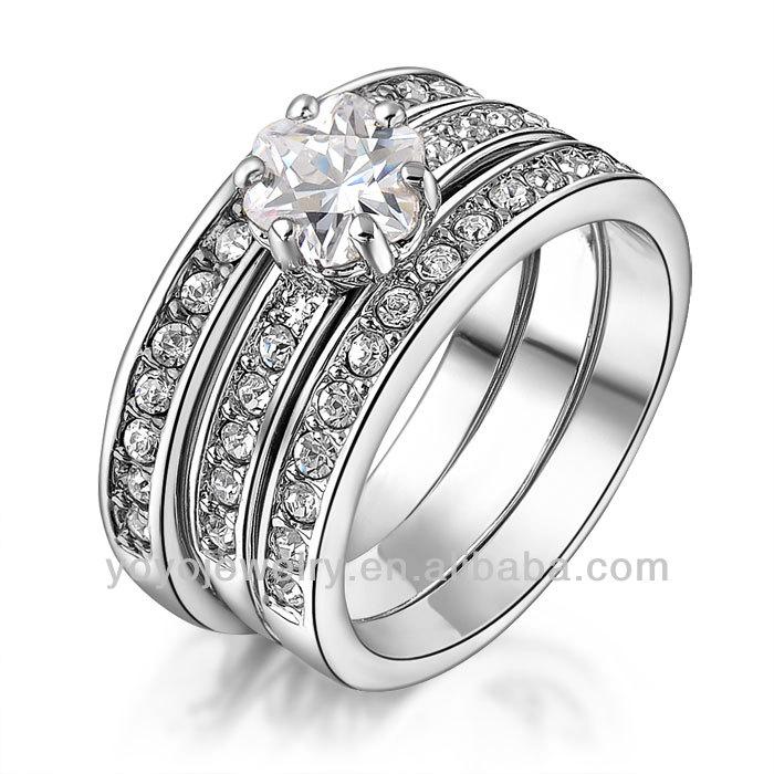 Special Silver Plated Boy Fashion Sterns Wedding Rings - Buy ...