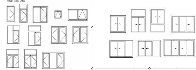 Casement Window Drawing : Window drawing designs open sc st