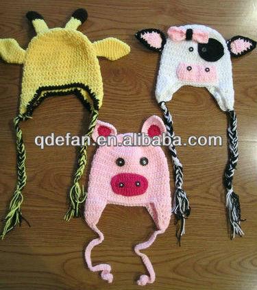 Handmade Häkeln Stricken Hüte Für Babys Und Kinder Tiere Größen 0