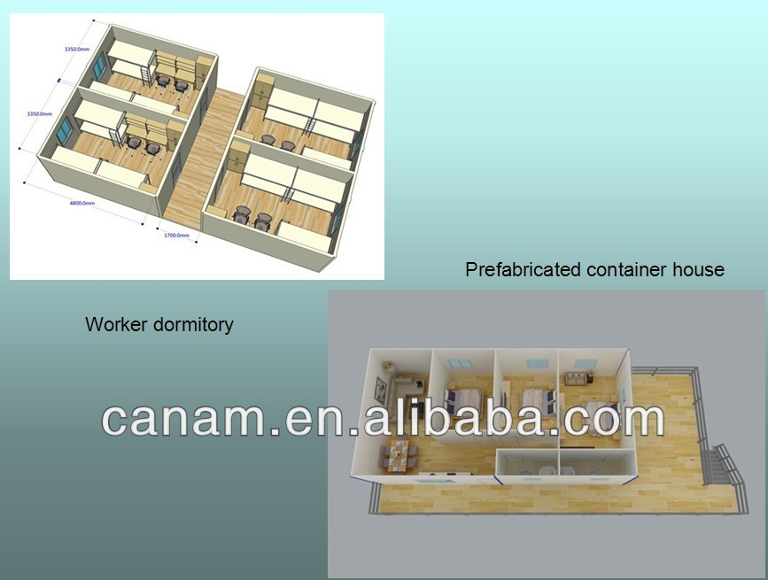 CANAM- Environment friendly modern container house