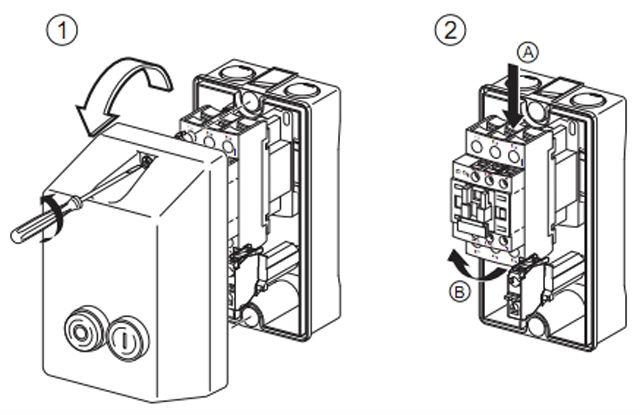 Le1-d09 Telemecanique Starter