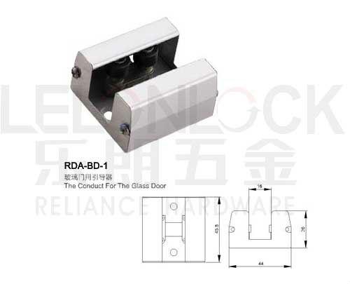 alta calidad puerta corredera de cristal piso gua conducta para la puerta de cristal - Guia Puerta Corredera