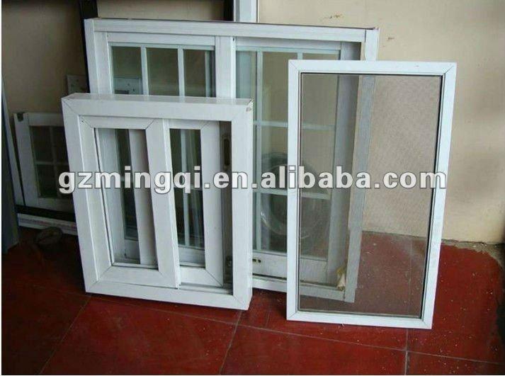 sliding glass window exterior doors with grill design - Windows Exterior Design
