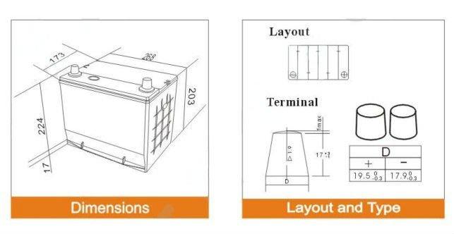 jis est ndar seca cargada la bater a de auto n50 48d26r 12 v 50ah buy bater a cargada seca n50. Black Bedroom Furniture Sets. Home Design Ideas