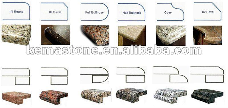 Prefab Man Made Granite Countertops