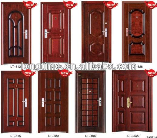 Amazing Copper Color Popular Steel Door (lt 6003) New Model