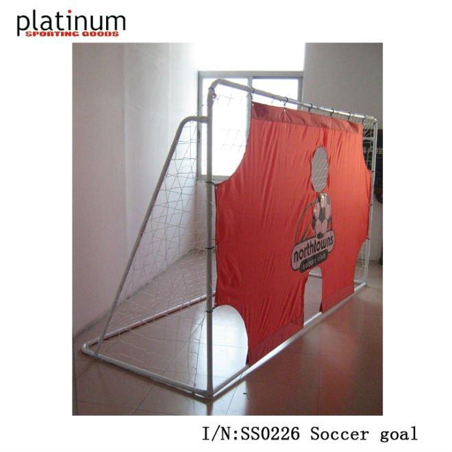 Goal Platinum: Soccer Goal 12'x6', View Portable Soccer Goal, PLATINUM