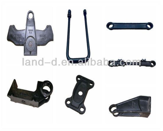 Several types semi trailer suspension leaf spring hangers