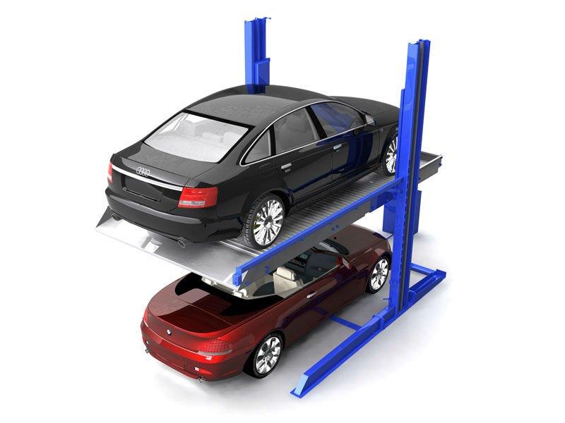 automatis simple deux tages ascenseur de stationnement de voiture en plein air buy. Black Bedroom Furniture Sets. Home Design Ideas