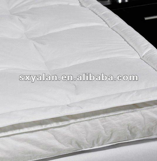 feather down mattress cover mattress pad