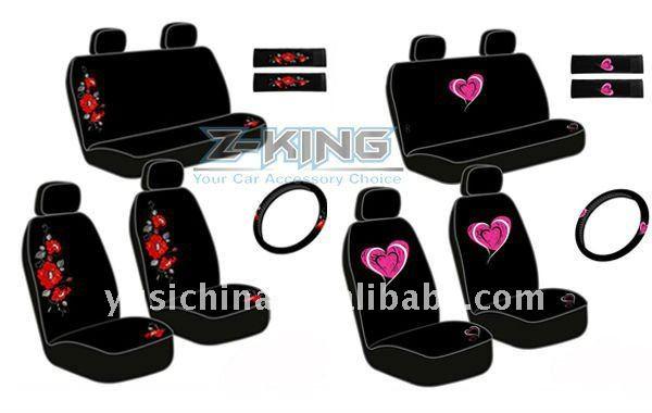Skull Design Car Seat Cover For Display