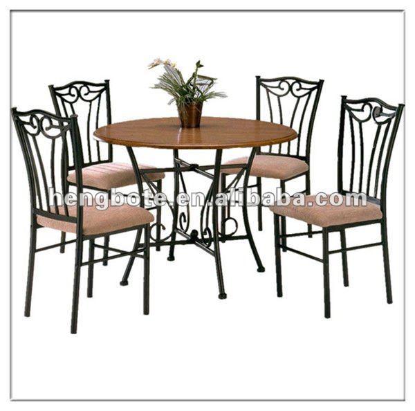 Antiguos juegos de comedor mdf comedor y sillas muebles de for Sillas de metal para comedor