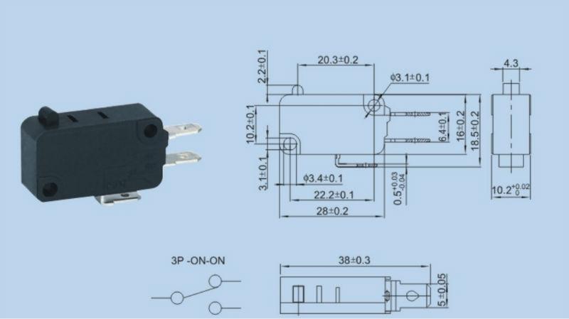 Jog Switch Micro Switch Kw7 Buy Electrical Micro Switch