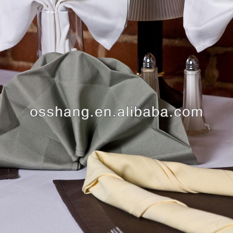 Spun Yarn Polyester Restaurant Hotel Napkin Table Cloth Napkin ...