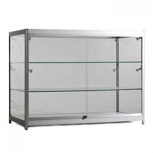 Lockable Glass Display Cabinets/glass Door Display Wooden Cabinet Part 62