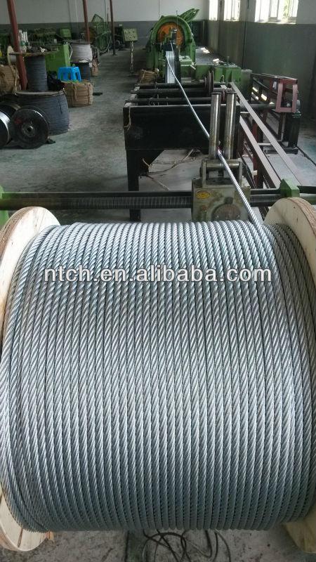 Galvanized Wire Rope 6x36sw+fc - Buy 6x36,6x36sw+fc,Galvanized Wire ...