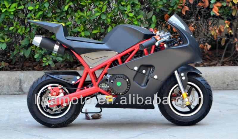 49cc Gas Mini Pocket Bike With Pull Start View Pocket Bike Liya