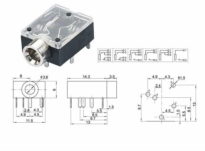 panel mount 3 5mm stereo wiring diagram mount free printable wiring diagrams
