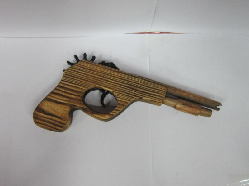 how to make a wooden rubber band gun