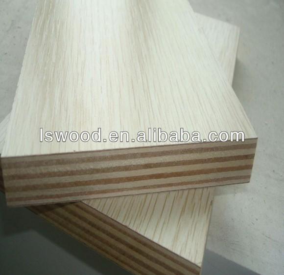 White laminated plywood sheet melamine