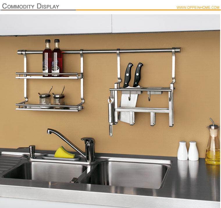 Stainless Steel Kitchen Cabinet Utensils Hanger - Buy Kitchen ...