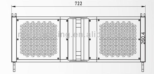 8 Line Array System Main Cabinet Le208 Buy 8 Line