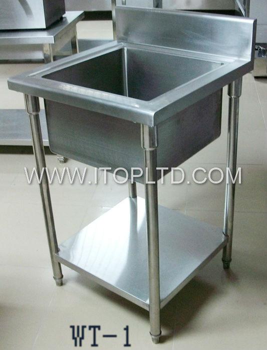 Industrial Stainless Steel Sinks Double Drain Board Kitchen