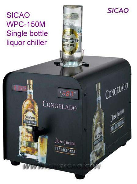 Single Shot Dispenser ~ Bottle ice cold shot liquor chiller refrigerated wine