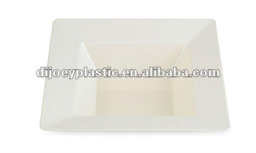 8 inch ps plastic square plates with silver rim coated  sc 1 st  Alibaba & 8 Inch Ps Plastic Square Plates With Silver Rim Coated - Buy Plastic ...