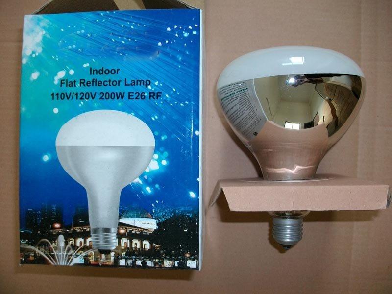 110v/220v 100w-300w E26 Infrared Reflector Lamps Rf