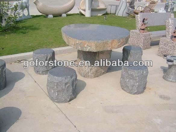 Tavoli Da Giardino In Pietra.Giardino Esterno Tavoli E Panche Di Pietra Tavolo Da Giardino In