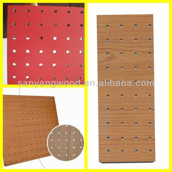 Buy Melamine Mdf Peg Board,Peg Mdf Board